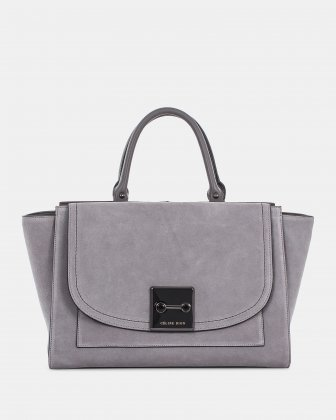 BAROQUE - SATCHEL - Grey Céline Dion