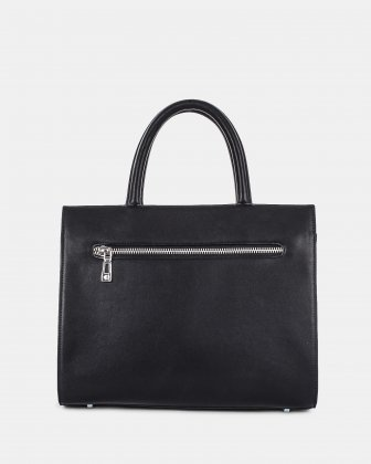 LEGATO - SATCHEL with Adjustable and removable crossbody strap - Black Céline Dion
