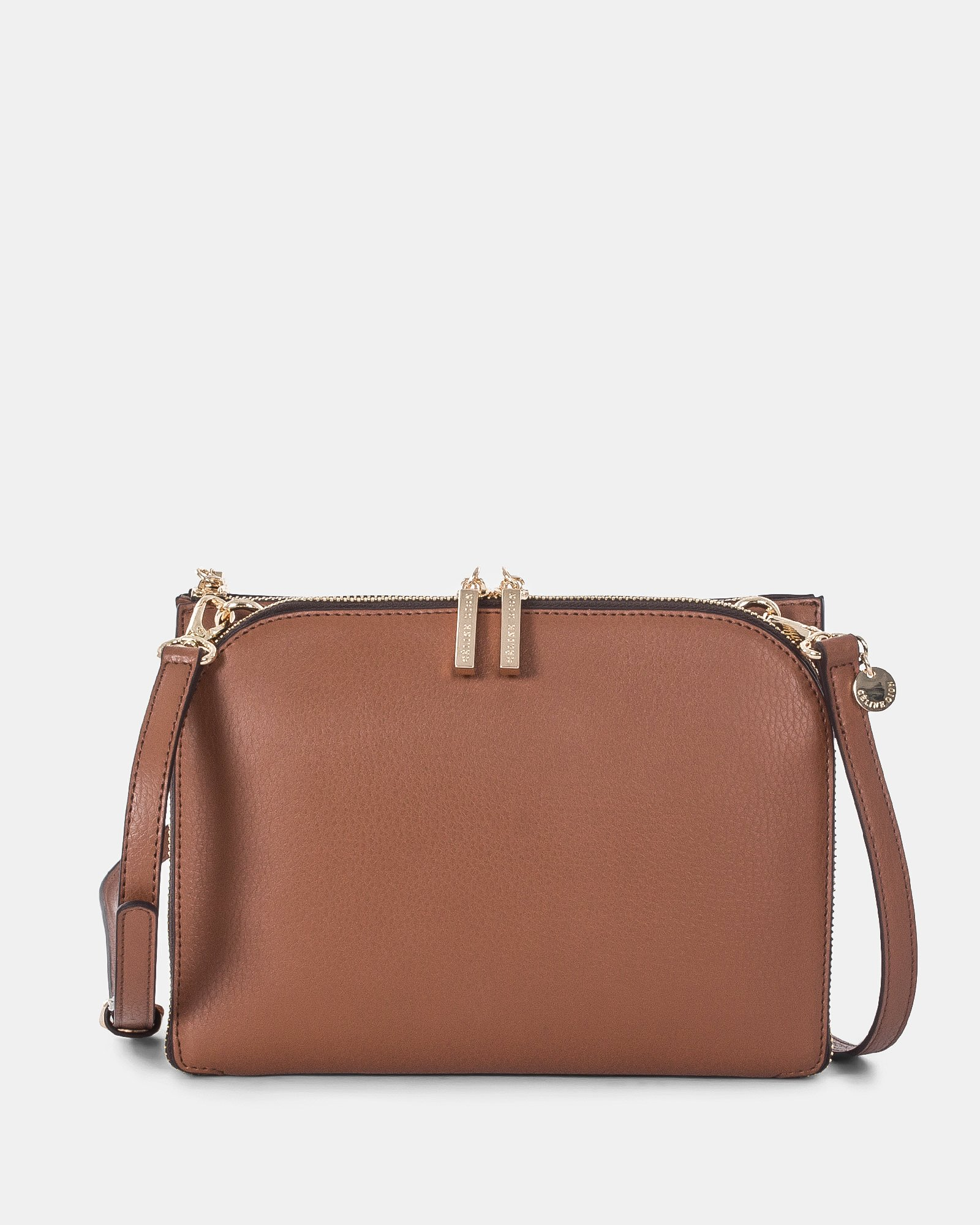 TRIAD - Crossbody with ajustable and removable strap - Tan - Céline Dion - Zoom