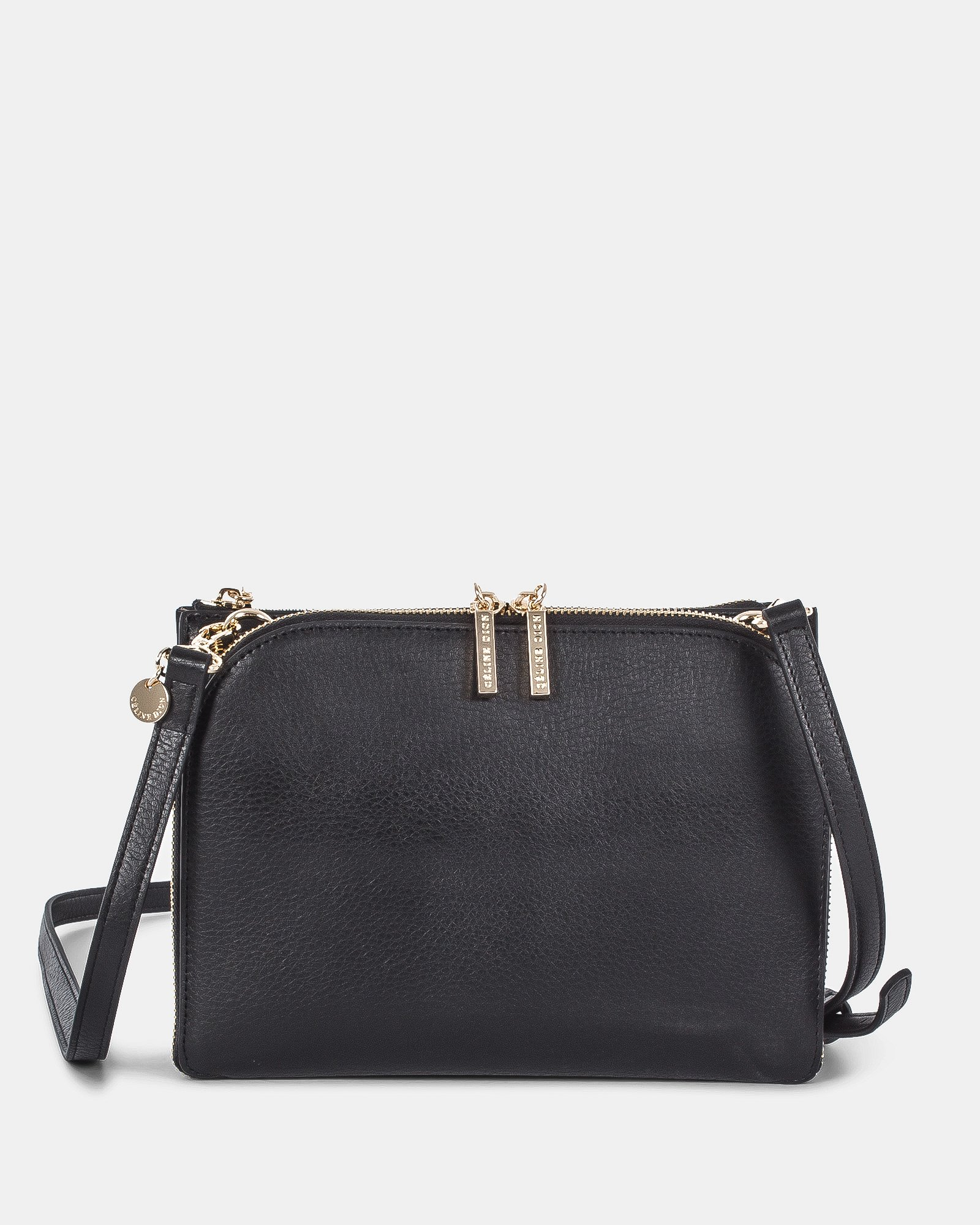 TRIAD - Crossbody with ajustable and removable strap - Black - Céline Dion - Zoom