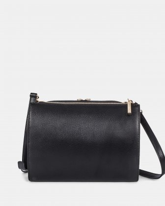 TRIAD - Crossbody with ajustable and removable strap - Black - Céline Dion