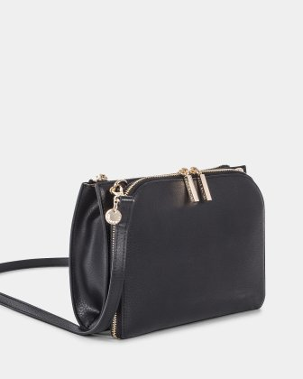 TRIAD - Crossbody with ajustable and removable strap - Black Céline Dion