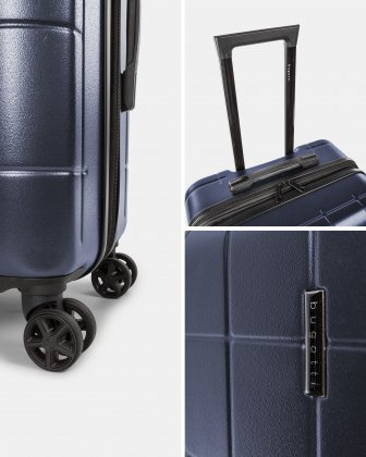 3-Piece Hardside Luggage Set - Bugatti
