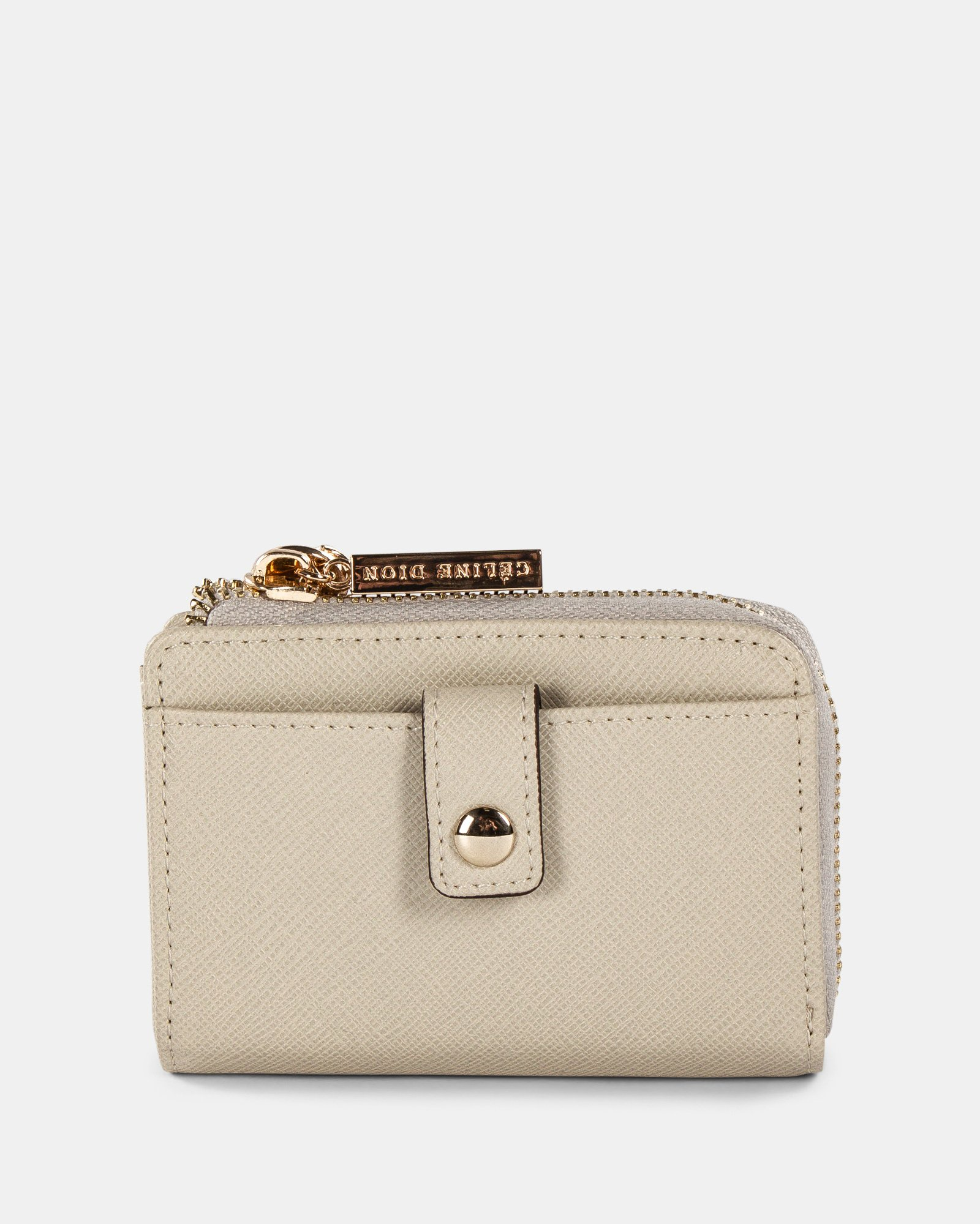 Grazioso - Small Wallet with Multiple cardholder pockets - Nude   - Céline Dion - Zoom