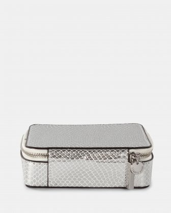 Grazioso - Travel Jewelry box - Silver Lizard Céline Dion