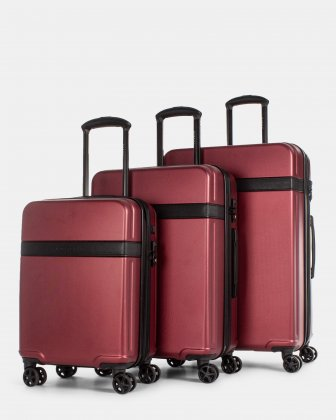 ROME - 3-PIECE HARDSIDE LUGGAGE SET Bugatti
