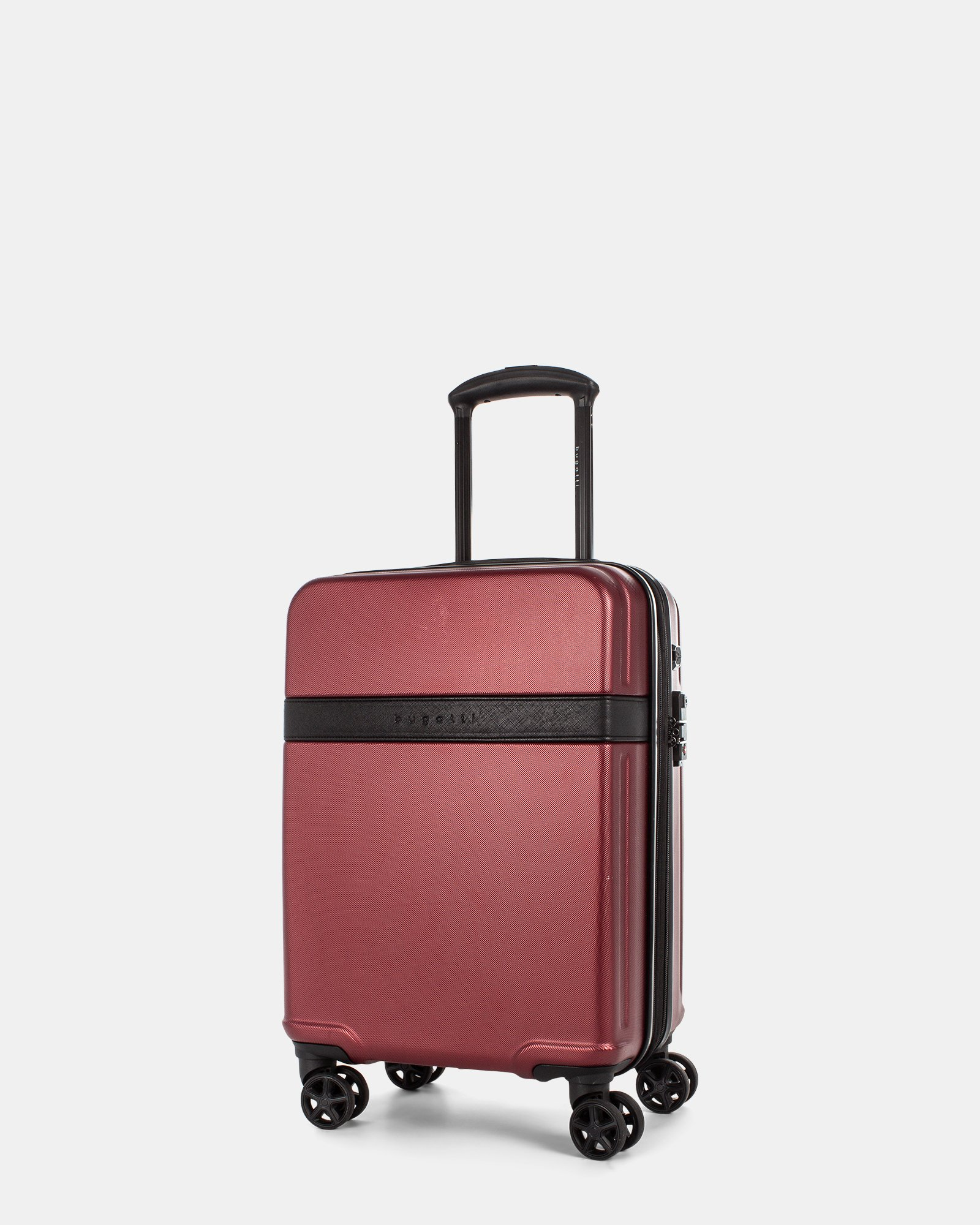 ROME - Resistant ABS Hardside Carry-on with Integrated USB port - wine - Bugatti - Zoom