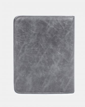 Valentino - Writing Case with Zip around closure & Padded tablet compartment - grey - Bugatti