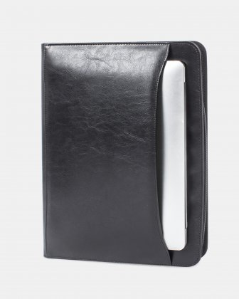 BUGATTI - WRITING CASE WITH Zip around closure - Black - Bugatti