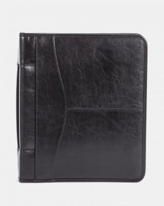 LEATHER RING BINDER – 1″ Bugatti