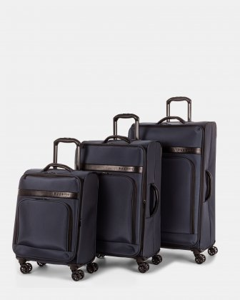 Ensemble de 3 valises souples Bugatti