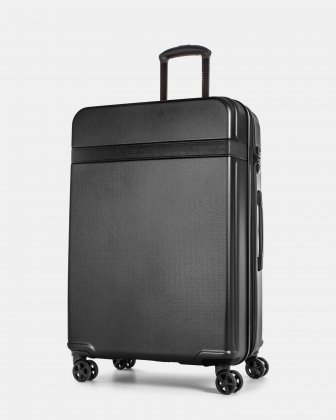 ROME - resistant ABS Hardside Luggage 28'' with TSA lock - Black Bugatti