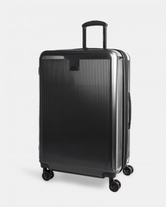 SINGAPORE - Abs & polycarbonate Hardside Luggage 28'' - Black Bugatti