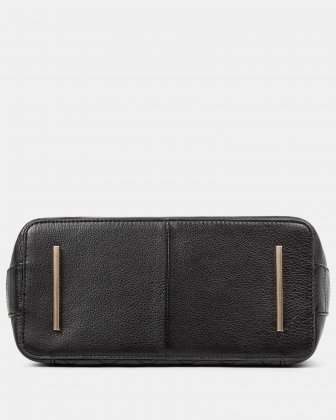 Fastoso - hobo with Front zippered pocket - Black - Céline Dion