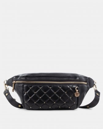 Fastoso - Moneybelt with Front zippered pocket - Black Céline Dion