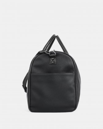 Gin & Twill - Duffle Bag with Padded laptop section - Black Bugatti