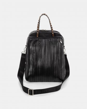 Volta - backpack with main zippered compartment - Black Céline Dion