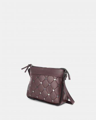 Diamond - Crossbody with Main zippered compartment - Deepbordo Joanel