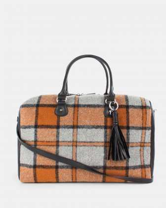 Prelude - Duffle Bag with Adjustable shoulder strap - Rust Céline Dion