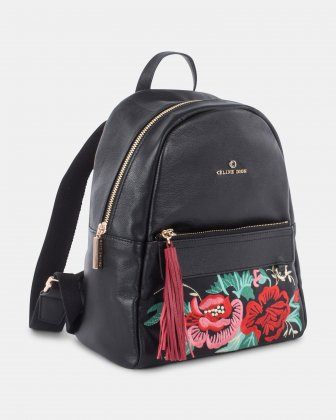 Harmonic Embroidered Backpack Céline Dion