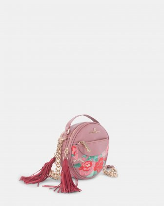 Harmonic Round Embroidered Crossbody Céline Dion