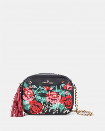 Harmonic Embroidered Crossbody Céline Dion
