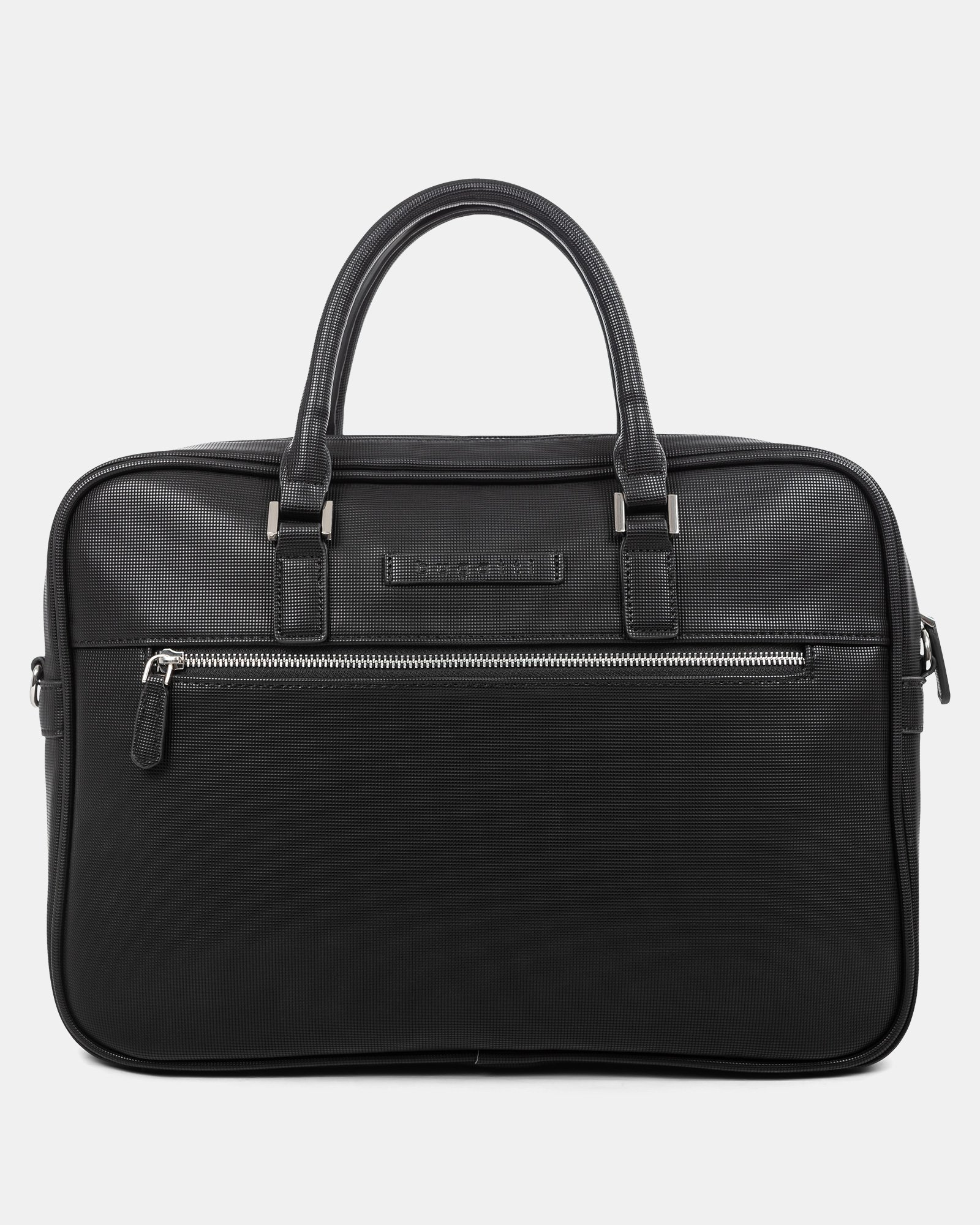 """Pure - LADIES EXECUTIVE BRIEFCASE with Padded laptop section for 15.6"""" - Black  - Bugatti - Zoom"""