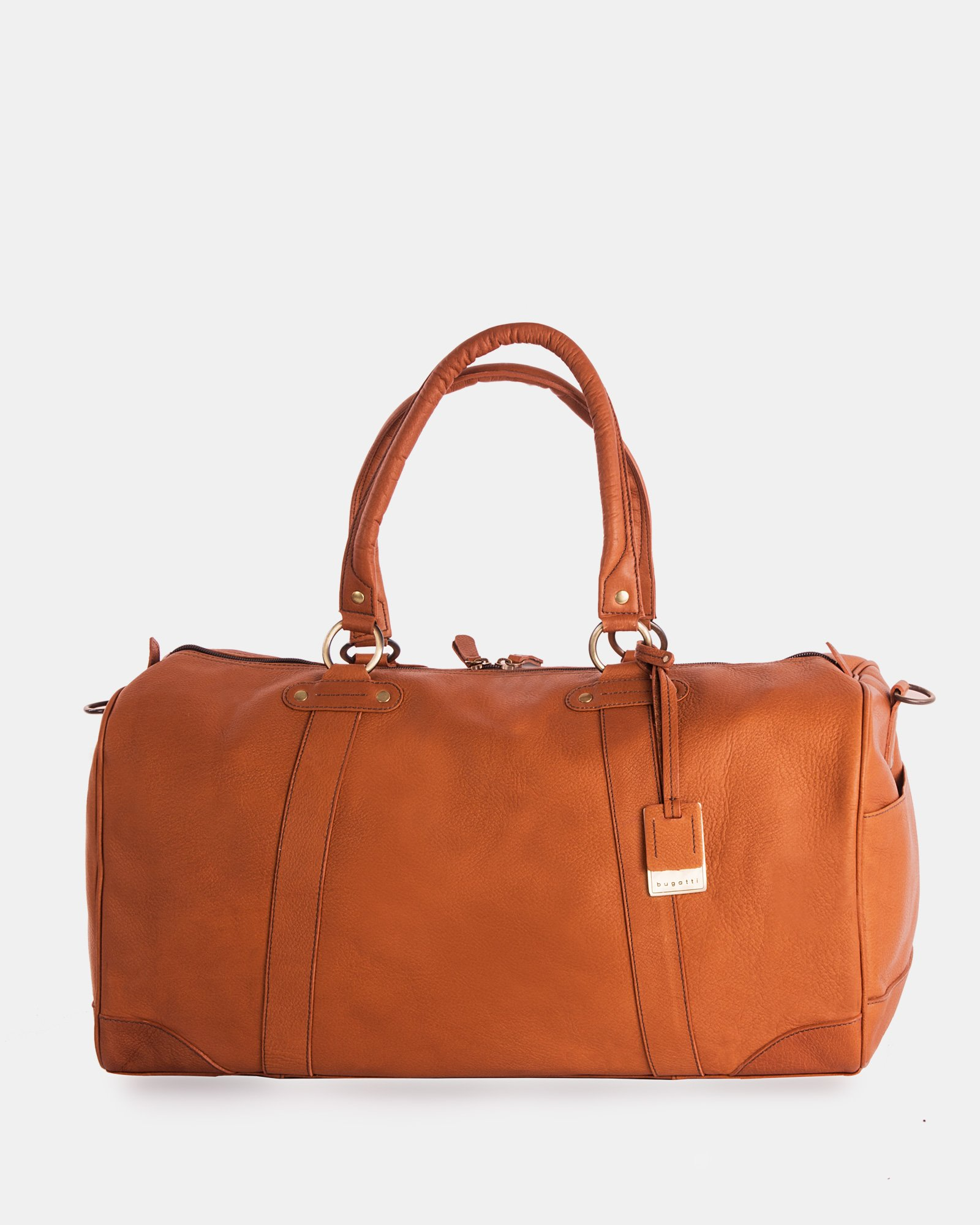 Perreira - Leather Duffel Bag  - Bugatti - Zoom
