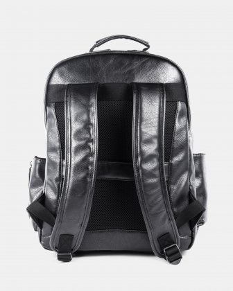 VALENTINO - BACKPACK FOR 15.6 IN LAPTOP AND RFID PROTECTION - BLACK - Bugatti