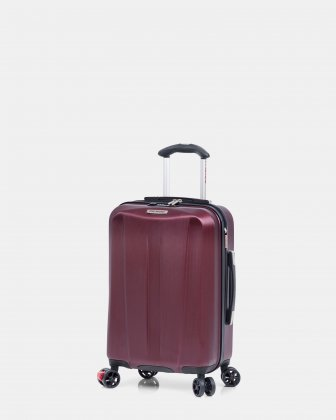 Marina Cove  - 19-Inch Expandable Spinner Luggage with TSA lock - Burgundy Ricardo