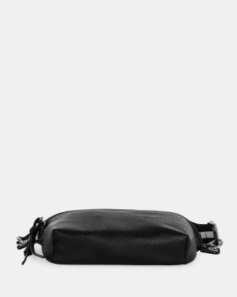 FANNY - Money belt with Main zippered compartment - Black - Joanel