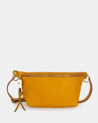 FANNY - Money belt with Main zippered compartment - Curry Joanel