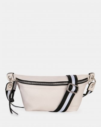 FANNY - Money belt with Main zippered compartment - offwhite Joanel