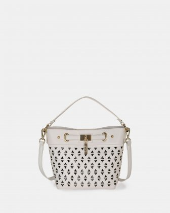 HOLLIE - Handle bag faux leather Joanel