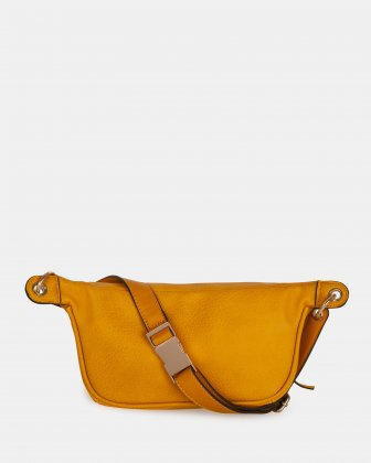 FANNY - Money belt with Main zippered compartment - Curry - Joanel