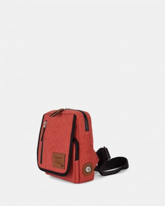 Mouflon- Wander Sling Bag with zipper closure - Sienna Mouflon