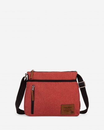 Mouflon - Wander Crossbody with zipper closure - Sienna Mouflon