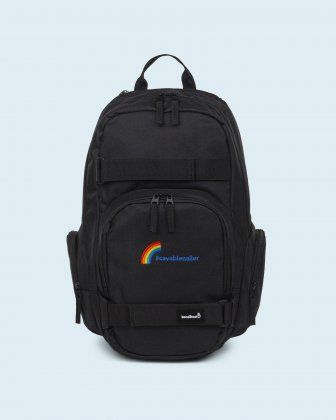 100% OF THE PROFITS WILL BE DONATED - Backpack black cavabienaller Bondstreet
