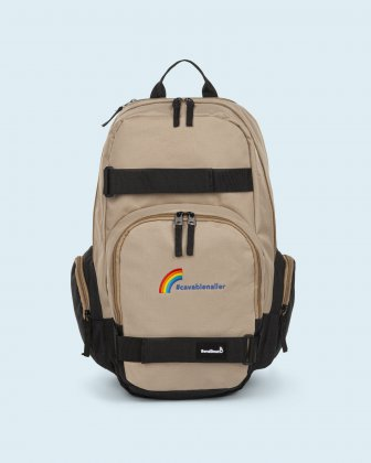100% OF THE PROFITS WILL BE DONATED - Backpack tan cavabienaller Bondstreet