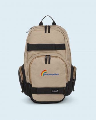 100% OF THE PROFITS WILL BE DONATED - Backpack tan everythingwillbeok Bondstreet