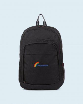 100% OF THE PROFITS WILL BE DONATED - Backpack black 15.6 po laptop cavabienaller Bondstreet