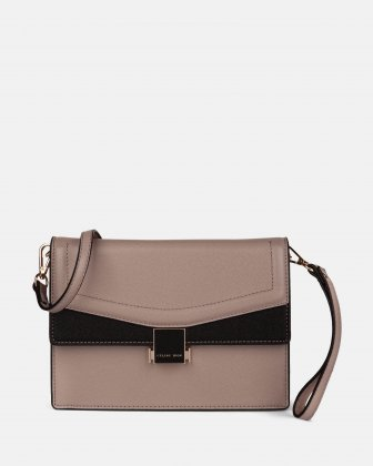 Scale - Clutch bag with Back easy access pocket - Nude Céline Dion