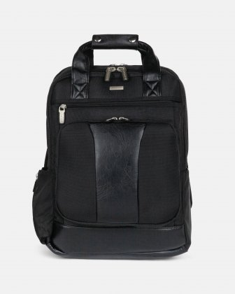 "Gregory – Backpack for 15.6"" with RFIP protection - black Bugatti"