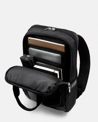 "Gregory – Backpack for 15.6"" with RFIP protection - black - Bugatti"