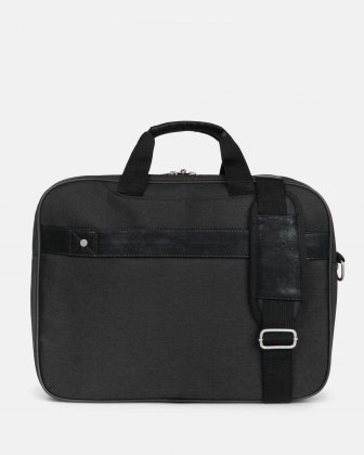 "HARRY -  Executive Briefcase WITH Padded laptop compartment FOR 17.3"" - GREY  - Bugatti"