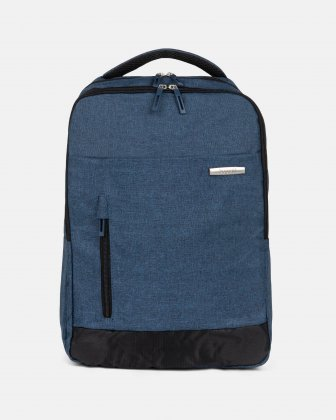 "Ryan - Backpack for 15.6"" laptop with Adjustable padded shoulder strap - blue Bugatti"