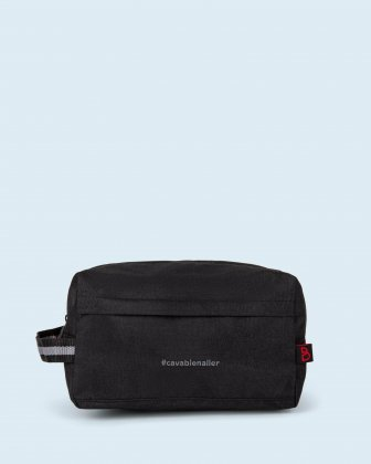 100% OF THE PROFITS WILL BE DONATED - toiletry kit black cavabienaller Bondstreet