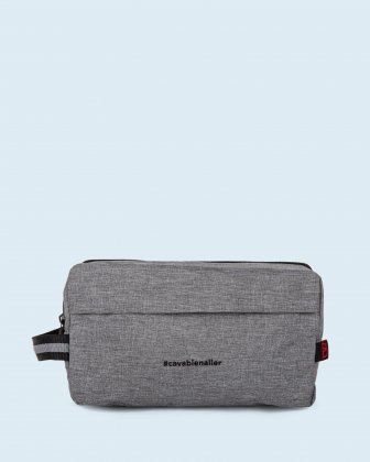 100% OF THE PROFITS WILL BE DONATED - Toiletry kit grey cavabienaller Bondstreet