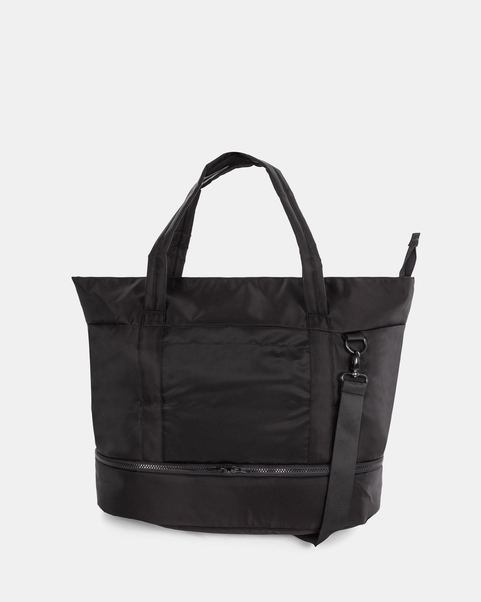 """TRAVELLER - BUSINESS TOTE for 14"""" laptops with Detachable wet pocket - Black - Bugatti - Zoom"""