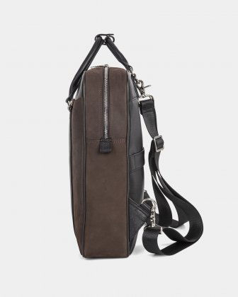 "BALANCE - BACKPACK FOR 14"" LAPTOP with Adjustable and removable straps - BROWN  - Bugatti"